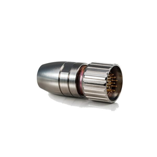 9-pins round connector