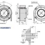 A110H Angle Encoder Drawing