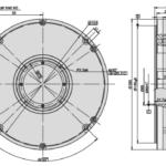 A200H Angle Encoder Drawing