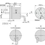 A36 Rotary Encoder Drawing