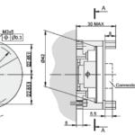 A42M Rotary Encoder Drawing