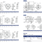 A58 Rotary Encoder Drawings