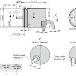 AK36 Rotary Encoder Drawing