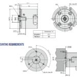 AK36HME1 Rotary Encoder Drawing