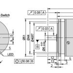 AK50 Rotary Encoder Drawing