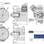 AK58HE1 Rotary Encoder Drawing